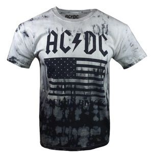 High Voltage Guitar T-shirt Herrenmode Ac/dc